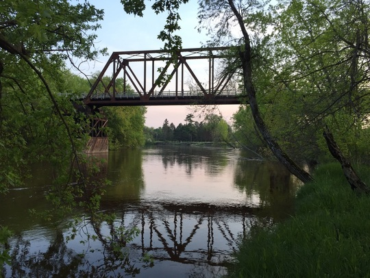 Dale Sanders bridge near Palisade MN